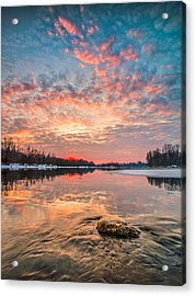 Marble Sky II Acrylic Print by Davorin Mance