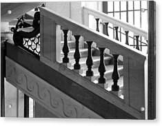 Marble Stair Acrylic Print
