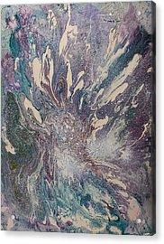 Marbled Paisley I Acrylic Print