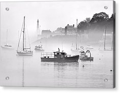 Marblehead Fog Acrylic Print