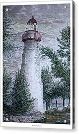 Marblehead Lighthouse Acrylic Print by Frank Evans