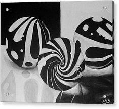 Marbles Acrylic Print