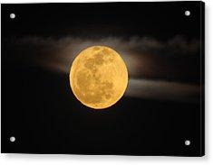 March Full Moon Acrylic Print