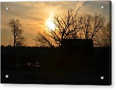 March Sunrise3 Acrylic Print by Jennifer  King