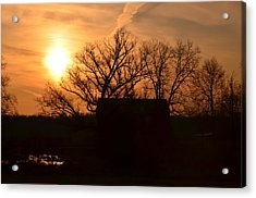 March Sunrise4 Acrylic Print by Jennifer  King