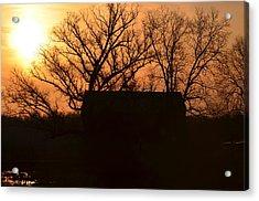 March Sunrise5 Acrylic Print by Jennifer  King