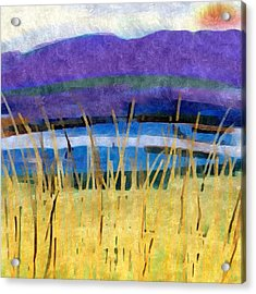 March Sunset Acrylic Print