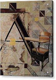 Marci Acrylic Print by Enid Rose