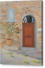 Marcialla Courtyard Acrylic Print