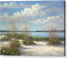Marco Island Acrylic Print by Laurie Hein
