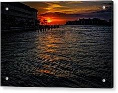 Marco Island Sunset 43 Acrylic Print