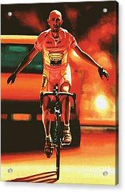 Marco Pantani Acrylic Print