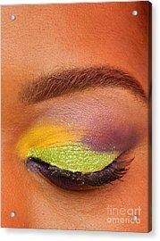 Mardi Gras 2014 Eye See Colors Of Mardi Gras Acrylic Print