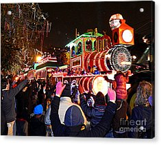 New Orleans Mardi Gras 2014 Orpheus Super Float Smokey Mary Acrylic Print