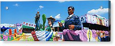 Mardi Gras Floats Acrylic Print by Panoramic Images