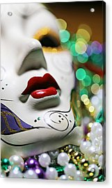 Mardi Gras II Acrylic Print by Trish Mistric
