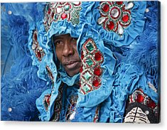 Mardi Gras Indian Acrylic Print