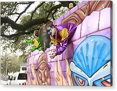 Mardigras In Louisiana Acrylic Print