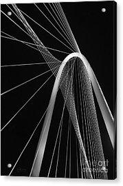 Margaret Hunt Hill Bridge Dallas Texas Acrylic Print by Robert ONeil