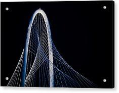 Acrylic Print featuring the photograph Margaret Hunt Hill Bridge by Darryl Dalton