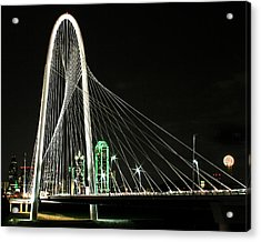 Margaret Hunt Hill Bridge Acrylic Print