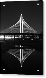 Margaret Hunt Hill Bridge Reflection Acrylic Print