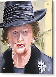 Margaret Acrylic Print by Martin Davis