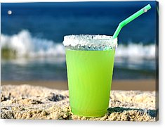 Margarita On The Beach Acrylic Print