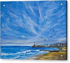 Margate Skies Acrylic Print