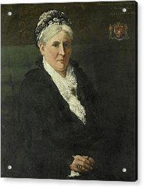 Maria Hermina Heemskerk 1827-1908 Acrylic Print by Litz Collection