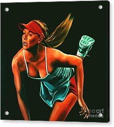 Maria Sharapova  Acrylic Print