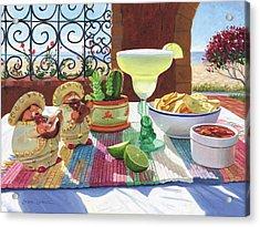 Mariachi Margarita Acrylic Print by Steve Simon