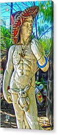 Mariachi Michelangelo Acrylic Print by Gregory Dyer