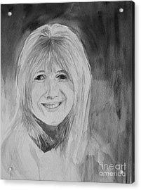 Marianne Faithfull Acrylic Print by Martin Howard