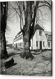 Mariannelund Kor And Birch Trees Acrylic Print