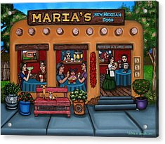 Maria's New Mexican Restaurant Acrylic Print