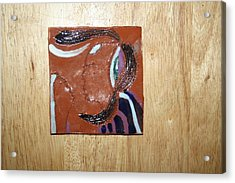 Maribel - Tile Acrylic Print by Gloria Ssali