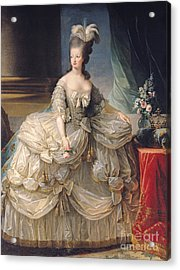 Marie Antoinette Queen Of France Acrylic Print