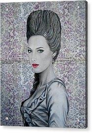 Marie Acrylic Print by Lynet McDonald