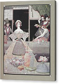 Marie Roget Acrylic Print