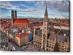 Marienplatz Acrylic Print