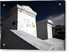 Marie's Tomb Acrylic Print by John Rizzuto