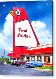 Marietta's Big Chicken Acrylic Print