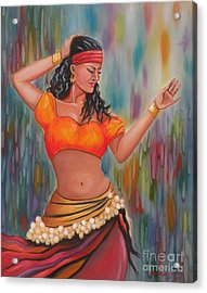 Marika The Gypsy Dancer Acrylic Print
