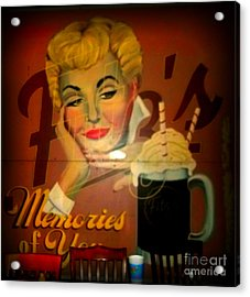 Marilyn And Fitz's Acrylic Print by Kelly Awad
