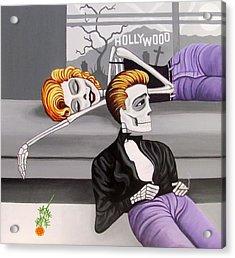 Marilyn And James Acrylic Print