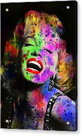 Marilyn Acrylic Print by Daniel Hagerman