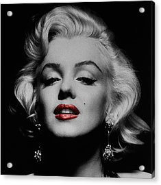 Marilyn Monroe 3 Acrylic Print by Andrew Fare