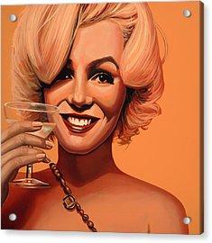 Marilyn Monroe 5 Acrylic Print by Paul Meijering