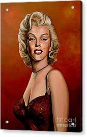 Marilyn Monroe 6 Acrylic Print by Paul Meijering